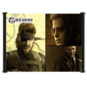 Metal Gear Solid Peace Walker Game Fabric Wall Scroll Poster (21x16