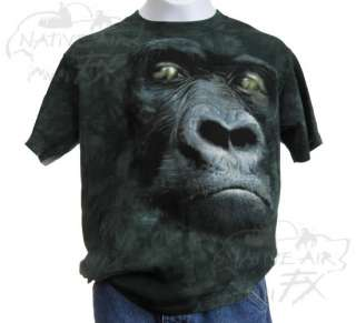 ZOO T shirt boy girl monkey gorilla giraffe S/M/L/XL