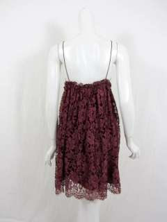 Dolce & Gabbana womens purple lace dress 40 $1045 New