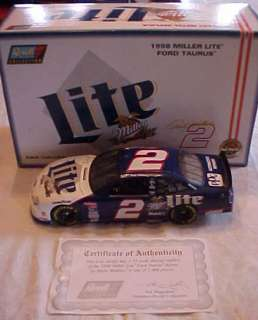 1998 #2 Rusty Wallace Miller Lite 118 Scale Stock Car