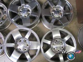 07 10 GMC Sierra Denali Yukon Factory 18 Wheel OEM Rims
