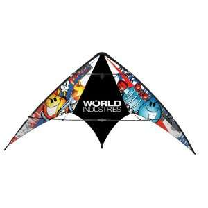 World Industries Nylon Kite Flameboy and Wet Willy by X Kites Toys