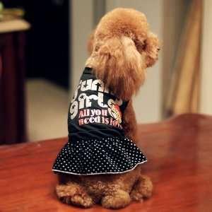 Dog Clothes Little Girl Dress Princess Dress Special Fall and Winter