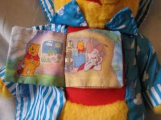 Stuff Plush Winnie Pooh Colorful Rainy Day Book Bear 13