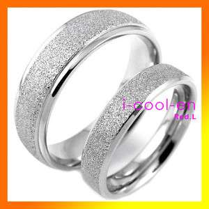 Stainless Steel Matching Ring Forever LOVE men womens couple ring