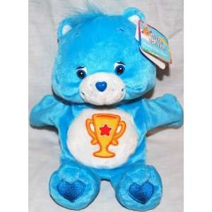 Champ Bear Care Bear Hand Puppet Plush Toys & Games