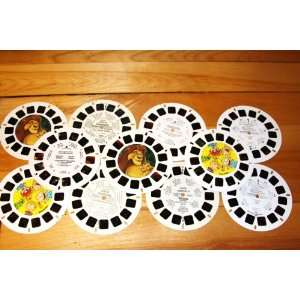 View Master Reels Assortment The Lion King, Rugrats, Alice