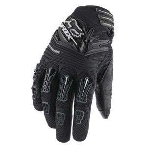 Fox Racing Polarpaw Gloves   2011   Large/Black Automotive