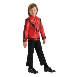 Michael Jackson Thriller Jacket Child Costume Size 8 10