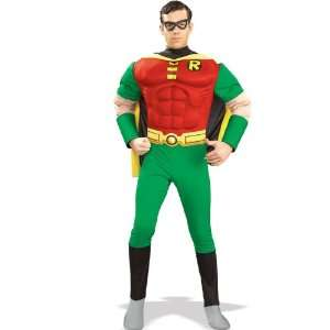 Lets Party By Rubies Costumes DC Comics Robin Muscle Chest