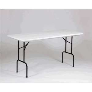 RS3072 Blow Molded Plastic Folding Table 30 x 72