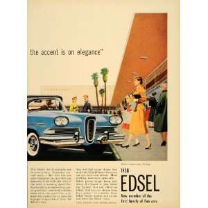 1957 Ad 58 Ford Edsel Citation Two Door Hardtop Cars