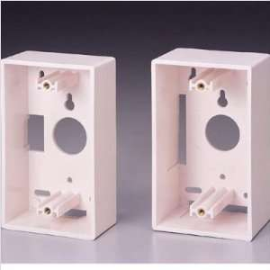 Liberty Cable SB SI  Single Gang Wall Box Color White