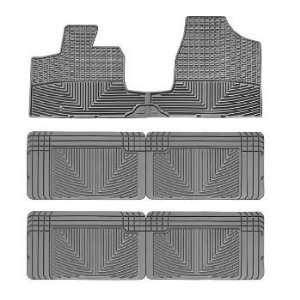2008 2011 Chrysler Town & Country Van Grey WeatherTech Floor Mat (Full