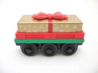 MUSICAL GIFT CAR Thomas Wooden Christmas Present Holiday Train JINGLE