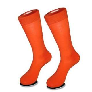 1 Pair of Antonio Ricci ORANGE Mens COTTON Dress SOCKS