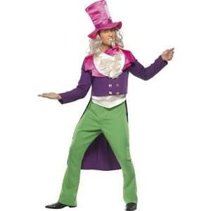 Mens Mad Hatter With Jacket Fancy Dress Costume Size M Toys & Games