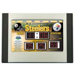 Pittsburgh Steelers Scoreboard Super Bowl Alarm Clock