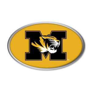 MISSOURI TIGERS NCAA Color Auto Car Emblem NEW MIZZOU
