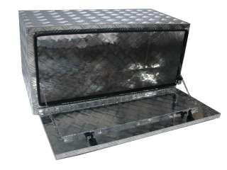 36 ALUMINUM TRUCK UNDERBODY TOOL BOX TRAILER BED RAIL
