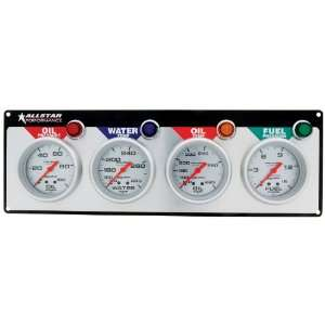 Allstar ALL80119 Auto Meter Ultra Lite 4 Gauge Panel Kit Automotive
