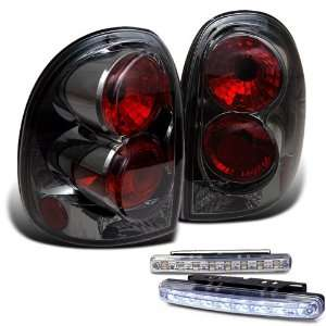 Eautolights 96 00 Caravan/98 03 Durango Tail Lights + LED
