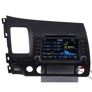 Car GPS Navigation Radio  DVB T TV Bluetooth IPOD DVD USB