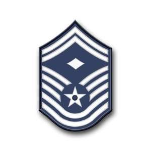 US Air Force Senior Master Sergeant Decal Sticker 3.8 6