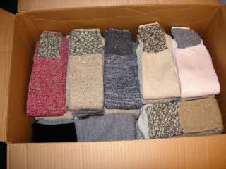 PAIRS MENS/WOMENS THERMAL WOOL BLEND TUBE SOCKS