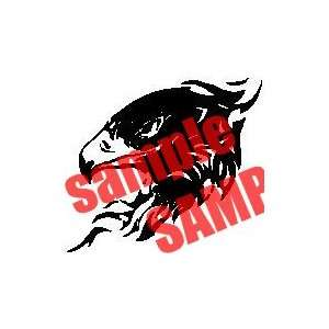 EAGLE HAWK BIRD LOGO WHITE VINYL DECAL STICKER Everything