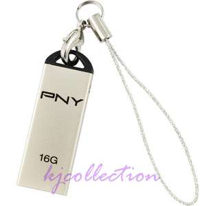 PNY 16GB 16G USB Flash Pen Drive Disk Metal Housing Attache M1