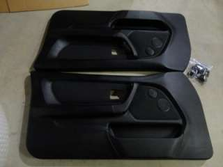E36 318TI BLACK FRONT DOOR PANELS EXCELLENT CONDITION HATCHBACK