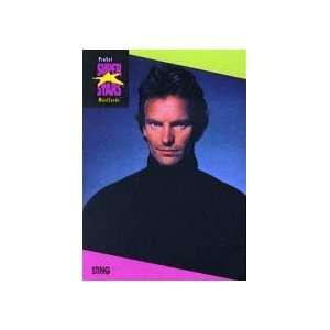 Sting   1991 Super Stars MusiCards Trading Card #95