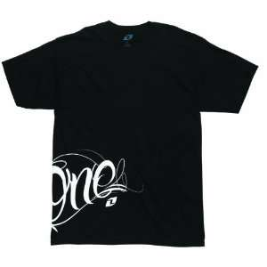 2012 ONE INDUSTRIES PARANOID TEE SHIRT BLACK XXL 2XL2XL