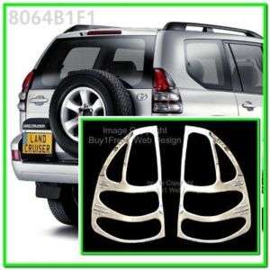 Toyota Land Cruiser Prado FJ120 Chrome Tail light Trim