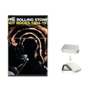 Rolling Stones Hot Rocks Flip Top Lighter  Sports