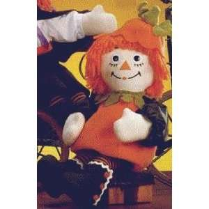 Halloween Raggedy Ann Dressed as a Pumpkin Toys & Games