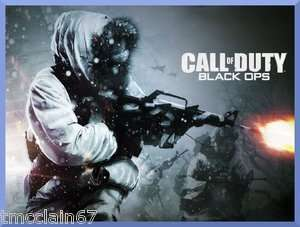 Call of Duty Black Ops edible cake image topper