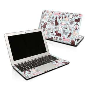 Doggy Boudoir Design Protector Skin Decal Sticker for Apple MacBook