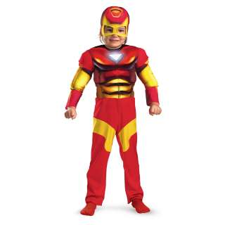 Iron Man Muscle Jumpsuit Child Costume Toddler Small 2T