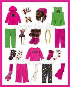 NWT Gymboree Merry & Bright Baby Girl/Toddler U Pick Style & Sz 0 24
