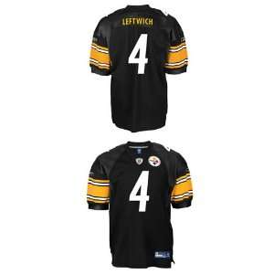 Pittsburgh Steelers NFL Jerseys #4 Byron Leftwich BLACK