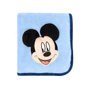 Disney Mickey Mouse 3D Toddler Blanket Baby