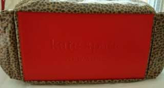 KATE SPADE LEOPARD STEVIE BABY DIAPER BAG NWT $395