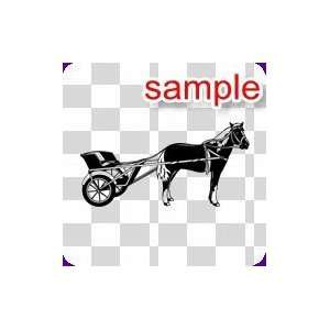 RANDOM CHARIOT 10 WHITE VINYL DECAL STICKER Everything