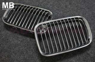 BMW E36 Front Center Grille 92 96 Kidney Style Chrome
