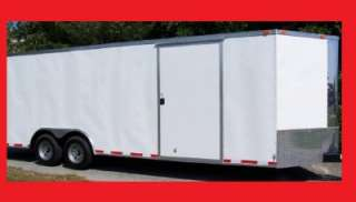 TANDEM ROAD DOG CLASSIC SPORT ENCLOSED CARGO TRAILER CAR HAULER