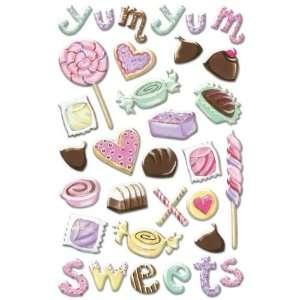 Sweet Shope Glitter Epoxy Stickers Arts, Crafts & Sewing
