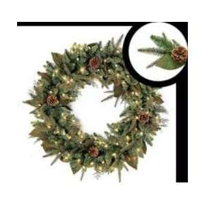 Bethlehem Lighting 24 Green River Spruce Battery Operated LED Wreath
