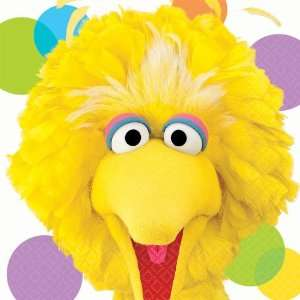 Sesame Street Party Big Bird Lunch Napkins (16) Party